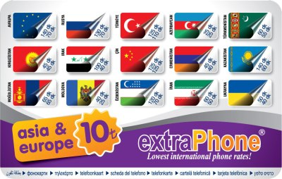 extraPhone® Asia&Europe 10TL Front