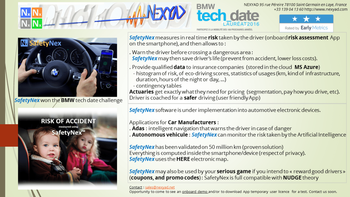 SafetyNex One Pager
