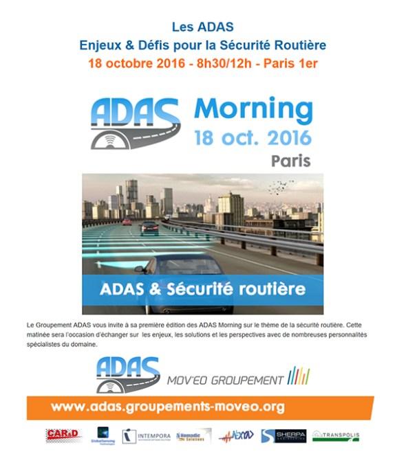 Adas Morning 18 Octobre 2016