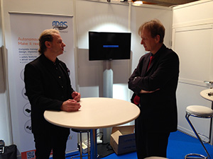 Gérard Yahiaoui & Jochen Langheim at CESA Automotive 2016