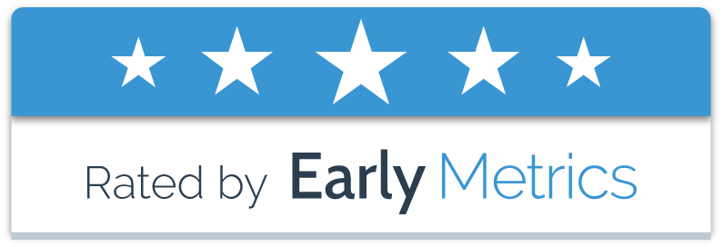 Nexyad 5 stars rating by Early Metrics