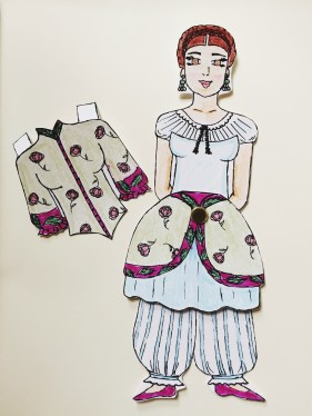 Paper doll craft project