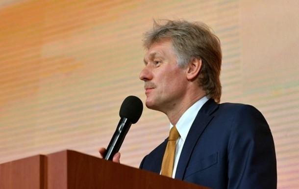 РФ ждет предложений по встрече Зеленского и Путина