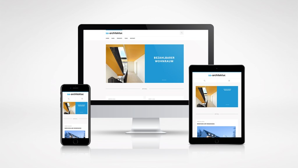 Refresh Webdesign für Architekturbüro