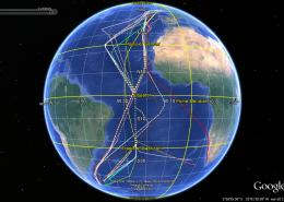 Atlantic Meridional Transect (AMT) Tracks