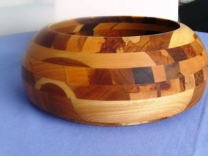 Beautiful Hand Crafted Wooden Bowl by Harry Gawith