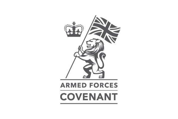 Armed forces covenant logo.
