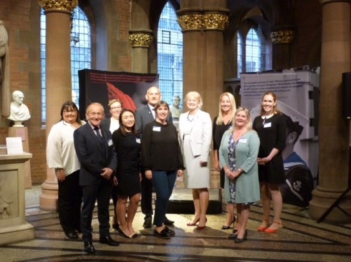 Jane with the NFF team in Scotland at one of our launches.
