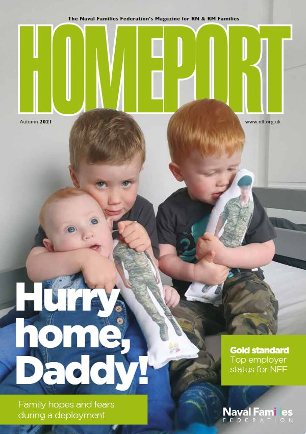 Front cover of Homeport magazine (Autumn 2021). Read online for free from our website.