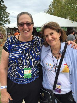 Kathy Ozer and Carolyn Mugar (Photo: Farm Aid)
