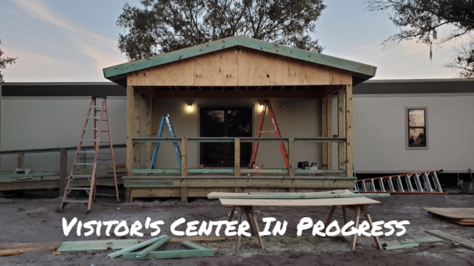 CFAR's Visitor Center Progress