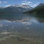great reflection on Kintla Lake
