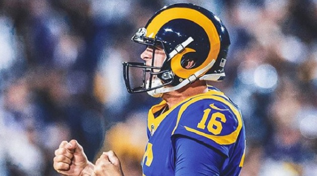 Jared Goff (Foto: Rams/Instagram)