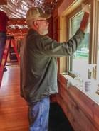 Gary washing windows