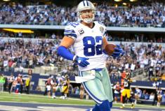 2. Jason Witten (Dallas Cowboys) : 110 réceptions - 1039 yards (64.9/match) - 3 TD