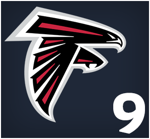 Atlanta Falcons : 09