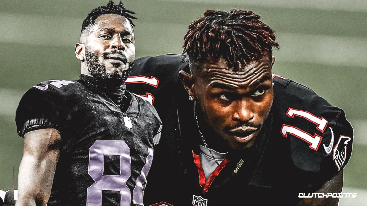 Antonio Brown most Julio Jones-t piszkálja