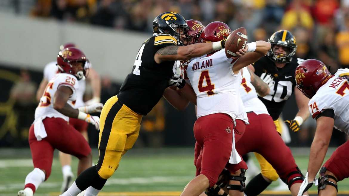 Draft 2020 – A.J. Epenesa, EDGE/DE (Iowa)