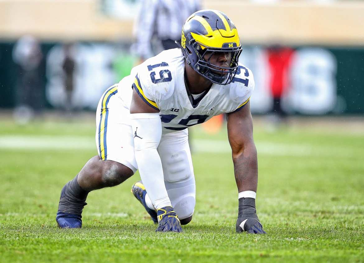 Draft prospectek: Kwity Paye, EDGE (Michigan)