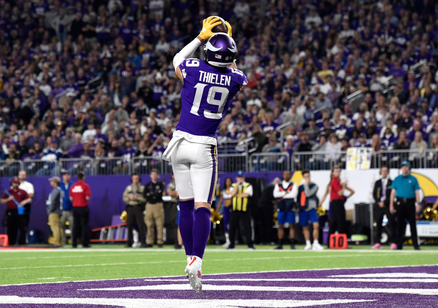 Minnesota Vikings: Adam Thielen is most underpaid receiver in NFL