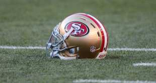 49ers-Helmet 49ers Worked Out Nine Players
