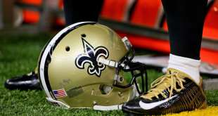 Saints-Helmet-2 Saints Waive Rookie OT Jeromy Irwin