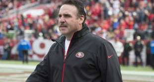 USATSI_9036752_168383805_lowres Saints Interviewing Former 49ers HC Jim Tomsula For DL Coach Position At Senior Bowl