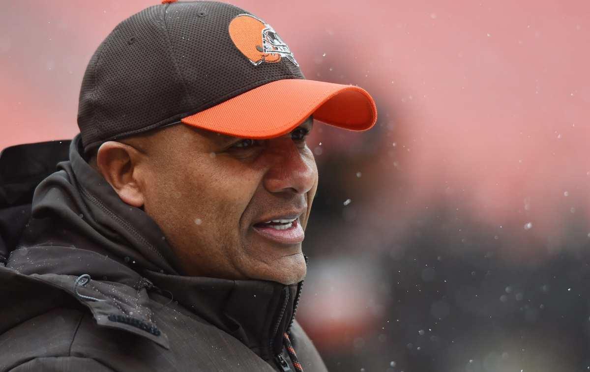 Bengals Could Consider Trading For Browns HC Hue Jackson?