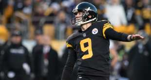 USATSI_9785765_168383805_lowres Steelers Re-Sign RFA K Chris Boswell