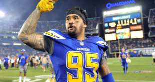 USATSI_9604934_168383805_lowres Chargers DT Tenny Palepoi Reinstated From Reserve/Suspended List