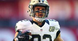 USATSI_9760463_168383805_lowres Saints Place TE Coby Fleener On Injured Reserve, Waive DB De'Vante Harris