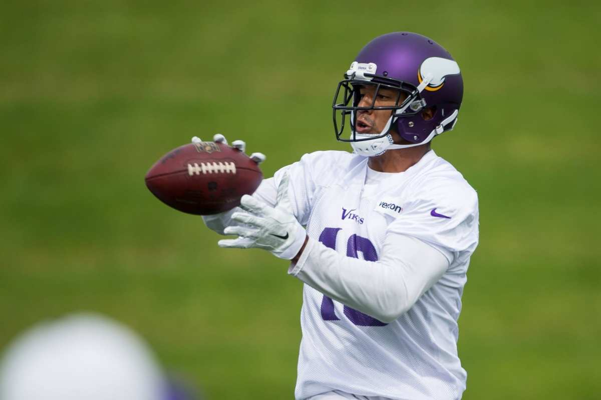Vikings Support WR Michael Floyd, Say They Encouraged Him To Kombucha Drink Tea