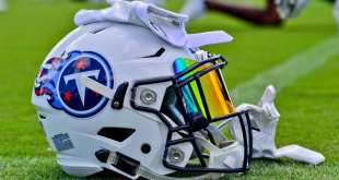 Titans-Helmet-2 Titans Waive DE Jimmy Staten & RB Joe Bacci From IR With Settlements