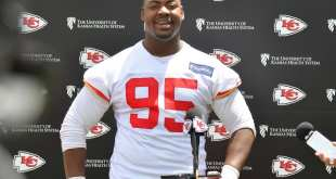 USATSI_10070982_168383805_lowres Chiefs DL Chris Jones Torn His MCL On Saturday, Out 8-10 Weeks