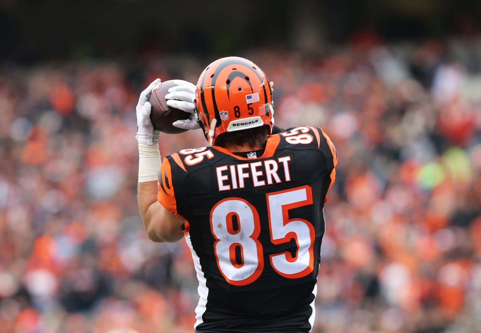 Bengals & TE Tyler Eifert Unable To Get Long Term Deal Done