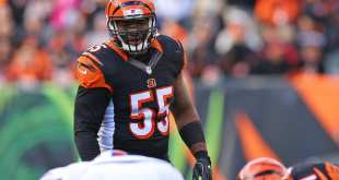 Vontaze-Burfict-2 AFC Notes: Bengals, Steelers, Texans
