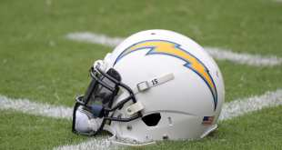 Chargers-Helmet-4 Chargers Sign WR Justice Liggins & DE Patrick Afriyi