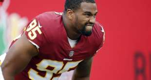 USATSI_10249566_168383805_lowres Redskins Place DL Jonathan Allen On Short-Term IR, Promote DL A.J. Francis