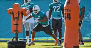 USATSI_10183397_168383805_lowres Dolphins Promote DL Cameron Malveaux, Place S Maurice Smith On NFI List