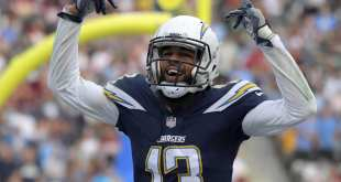 USATSI_10472832_168383805_lowres Chargers WR Keenan Allen Named 2017 Comebacker Player Of The Year