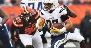 USATSI_9776134_168383805_lowres Chargers Waive RB Kenneth Farrow & K Nick Rose