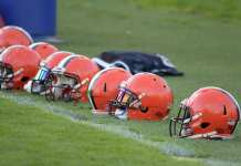 Browns Helmet