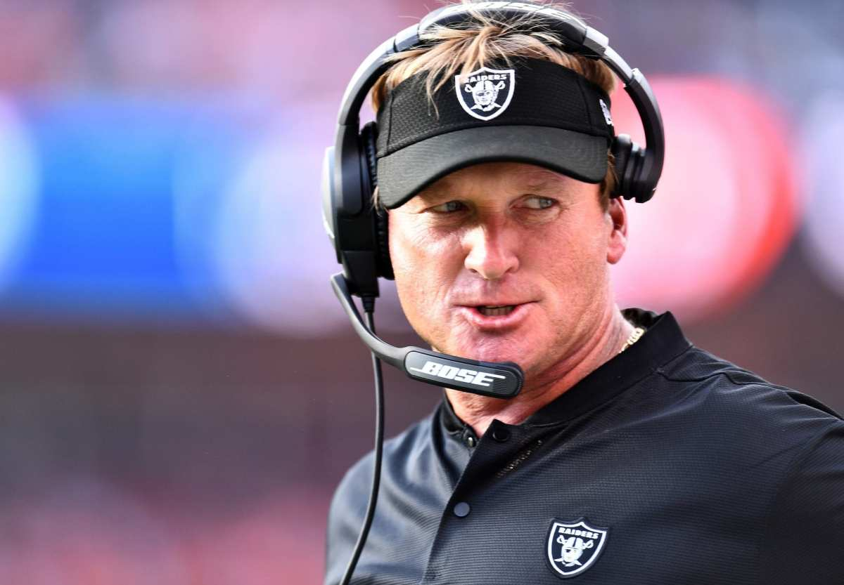 Jon Gruden's Personnel Style Dividing Raiders' Front Office