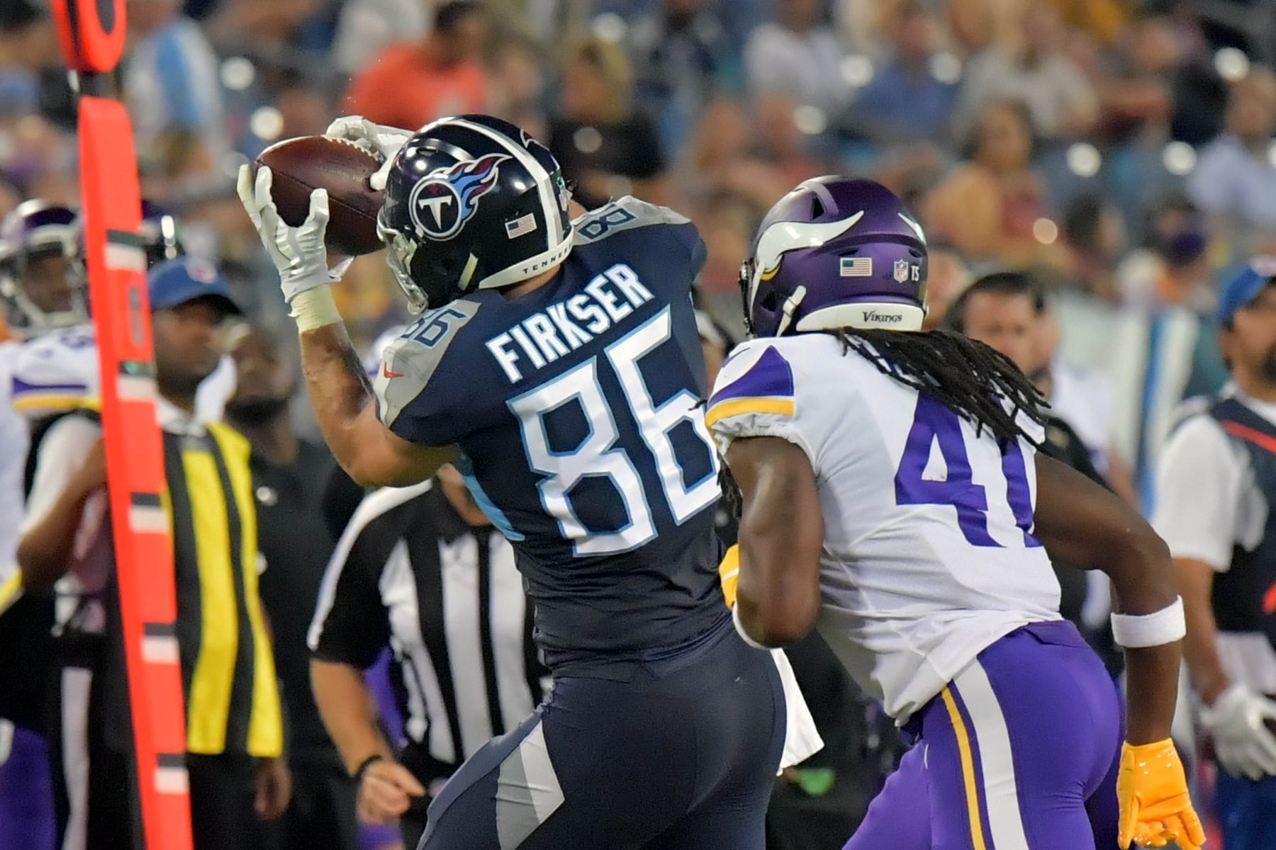 Titans Promote TE Anthony Firkser, Waive RB Dalyn Dawkins ...