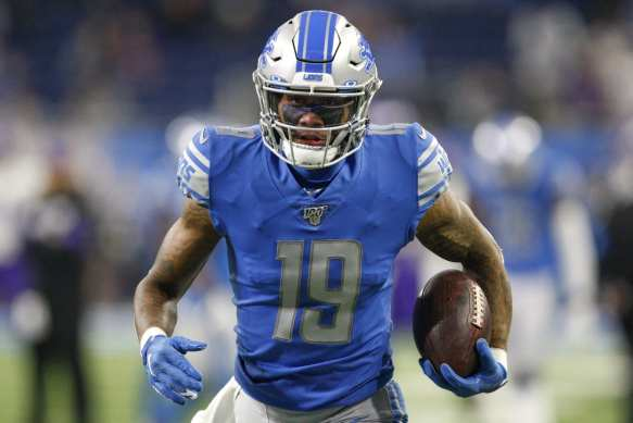 Kenny Golladay and the New York Giants agreed to a contract.