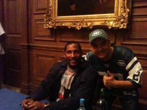 Ray Lewis with Dan