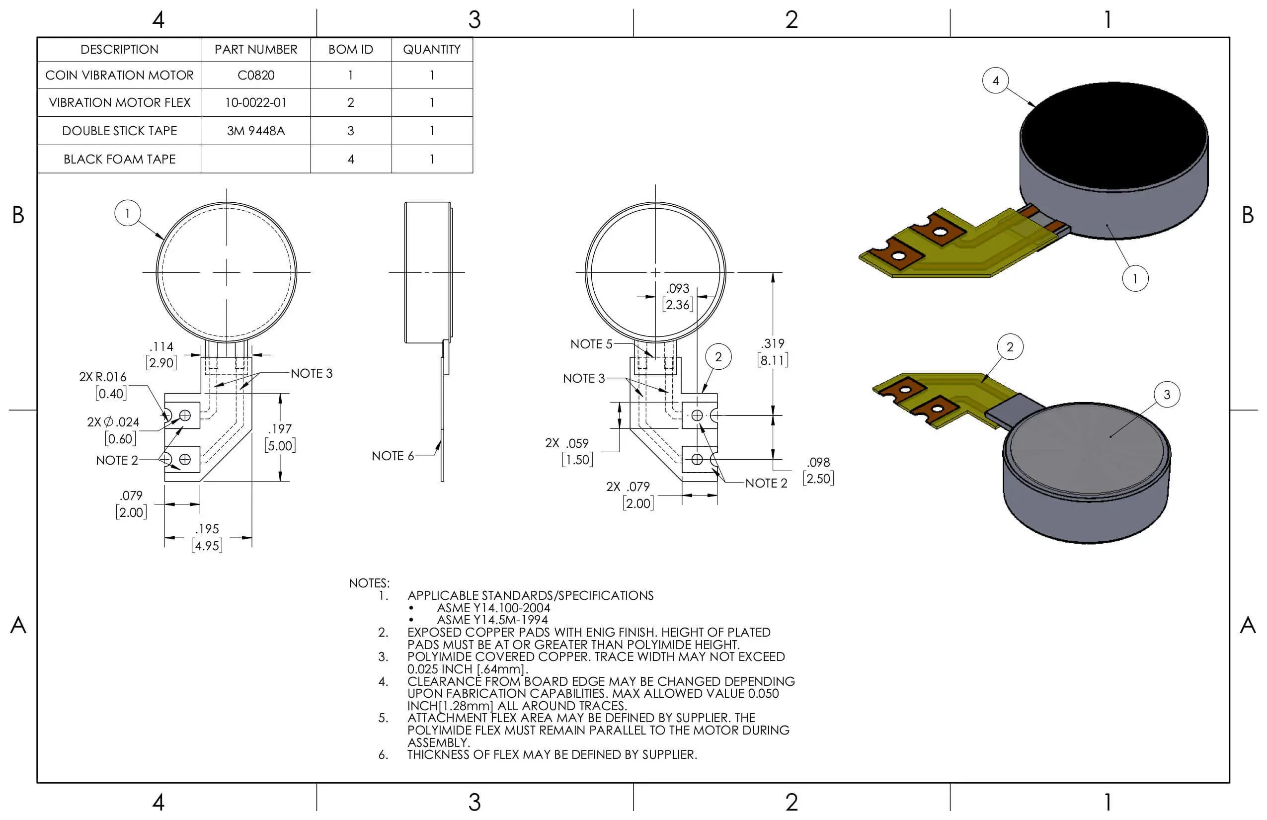 Nfp Coin Motor C Vibration Motor 3vdc