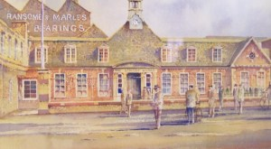 Stanley Works frontage