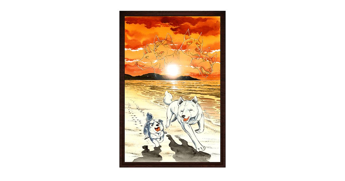 大人気コミックス『銀牙伝説シリーズ』フルカラーNFTアート発売!