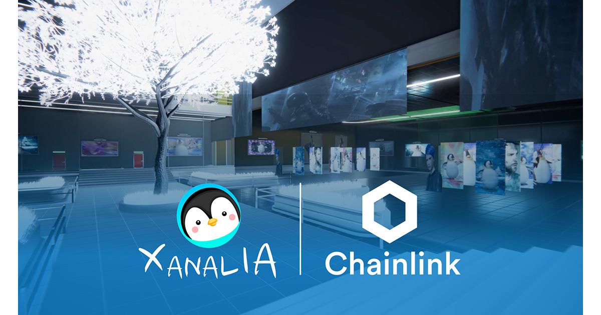 XANALIA、ChainlinkとNFT技術導入に関する提携を発表、約5000万円分のNFTを売上